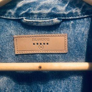 Blank NYC Jackets & Coats - Blank NYC Denim Embroidered Denim Jacket
